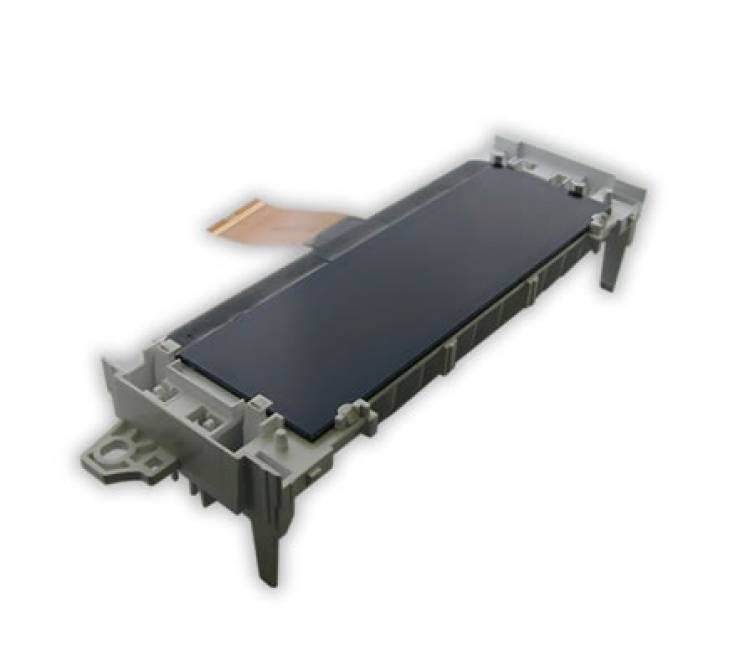 Heißverstemm-Anwendung zur Fixierung eines LCD Displays in einem Kunststoffkörper