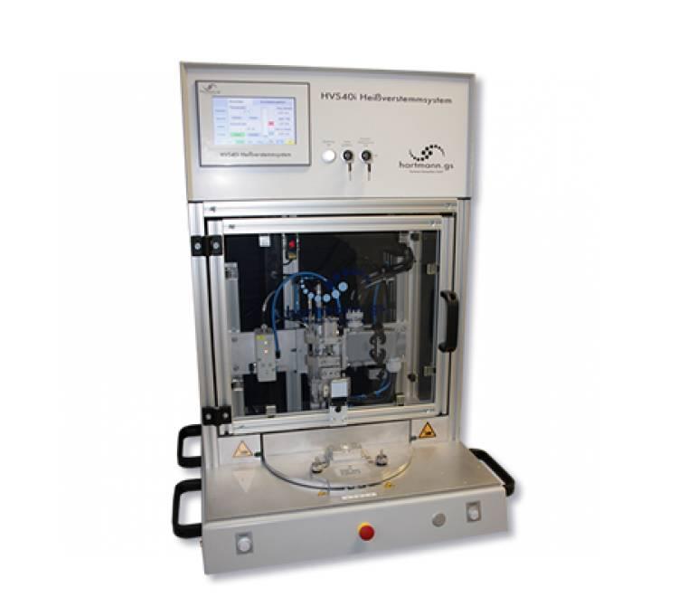 Präzisions-Heißverstemmsystem für den Siegelprozess von Kunststoffmembranen auf Kunststoffbauteilen